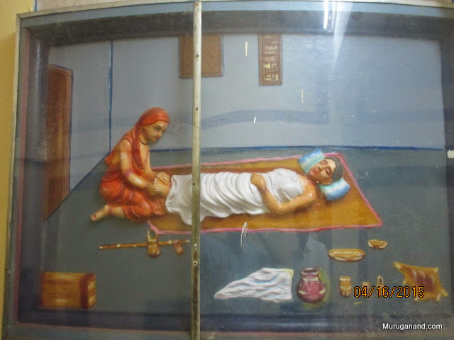 Sankara at the bed side of dying mother