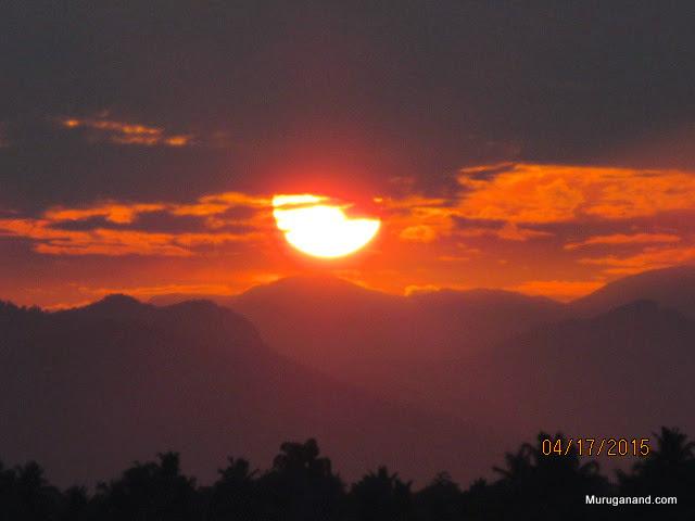 Sun is ready to shine on Sankara's birth place