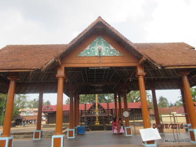 EntranceAn unusual practice- temple elephant is female
