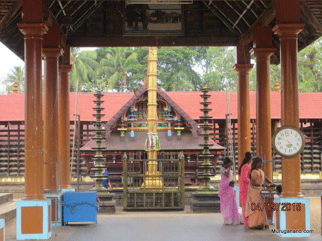Mandapam- see photo of Prameela, temple elephant