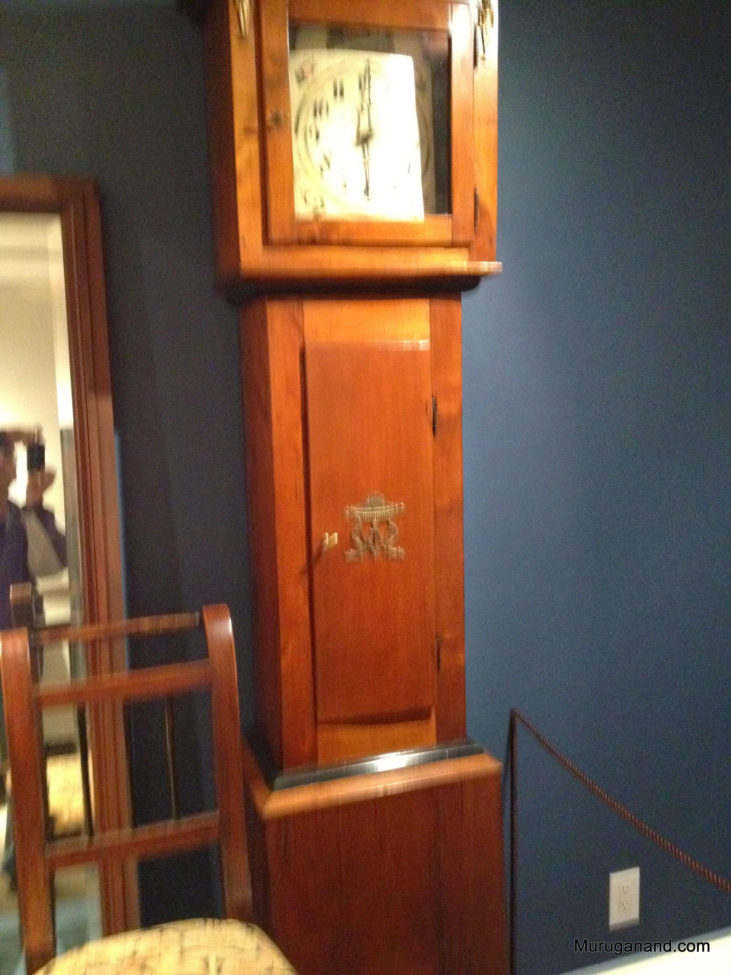 Tall case clock (1830's)