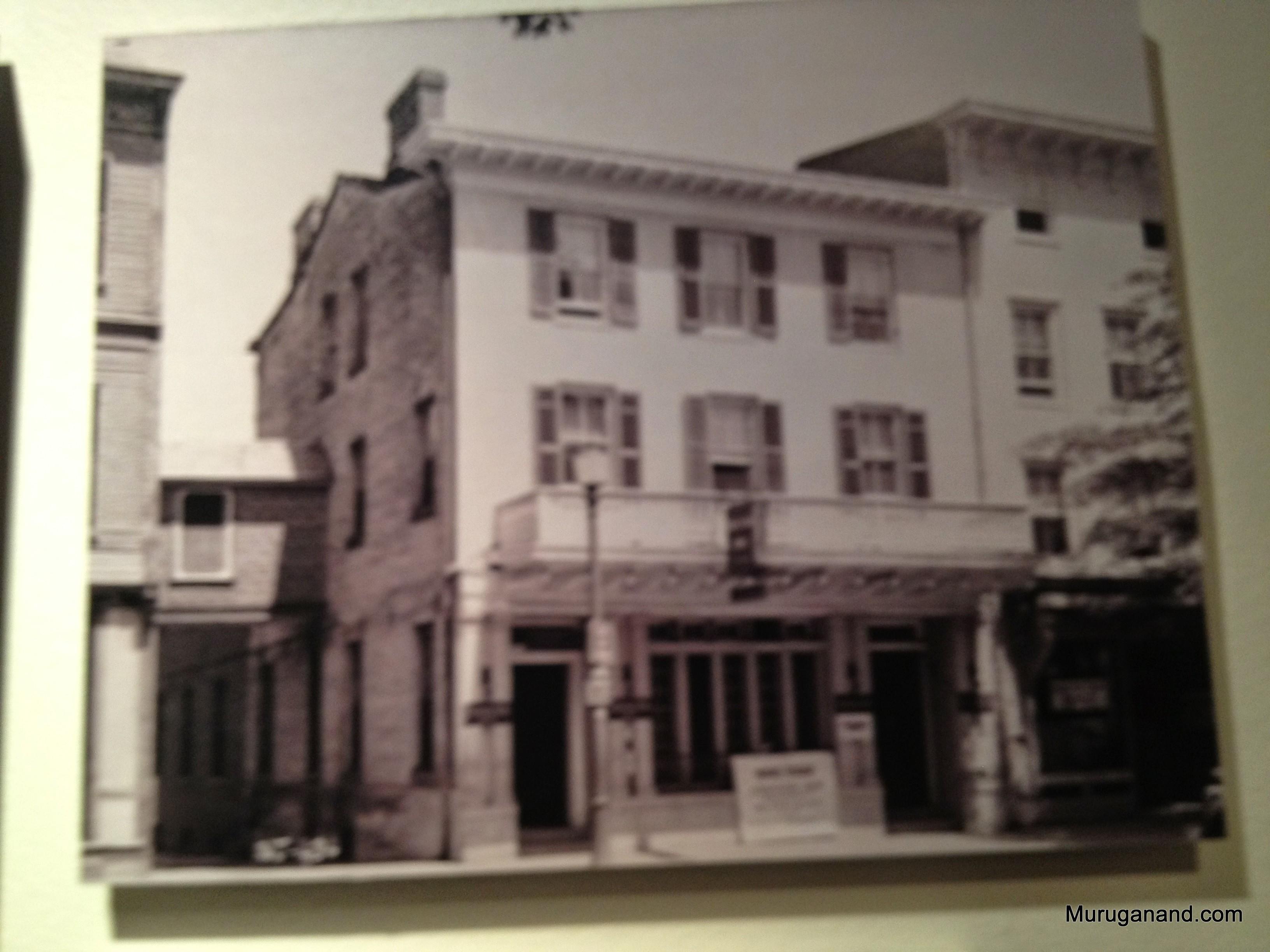 Nassau Inn, Princeton; practiced racial segregation
