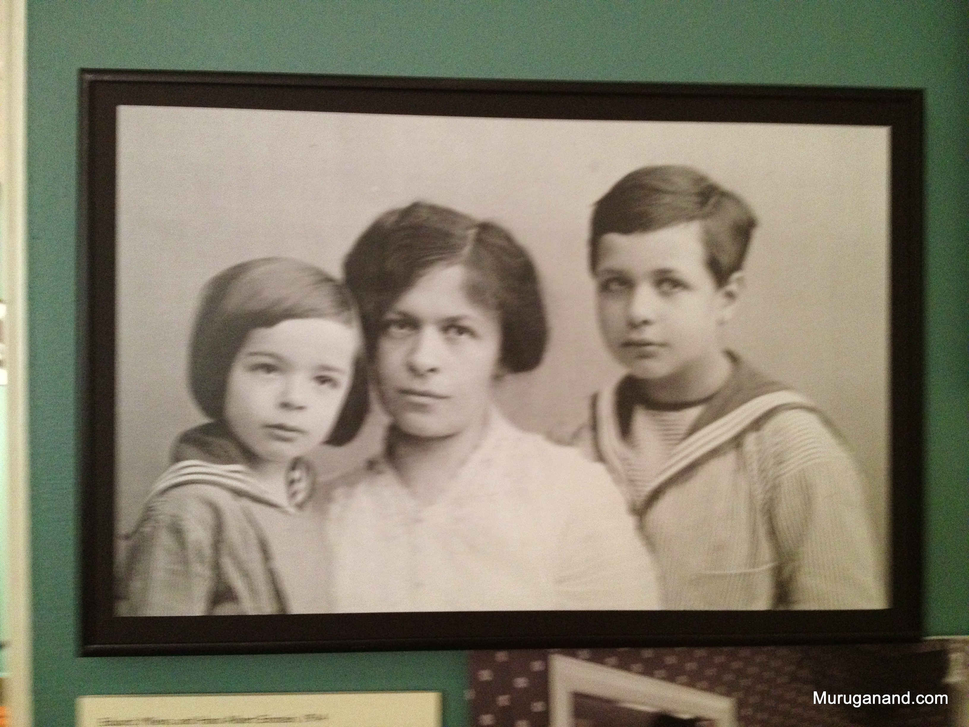 First wife Mileva (1875-1948) and children