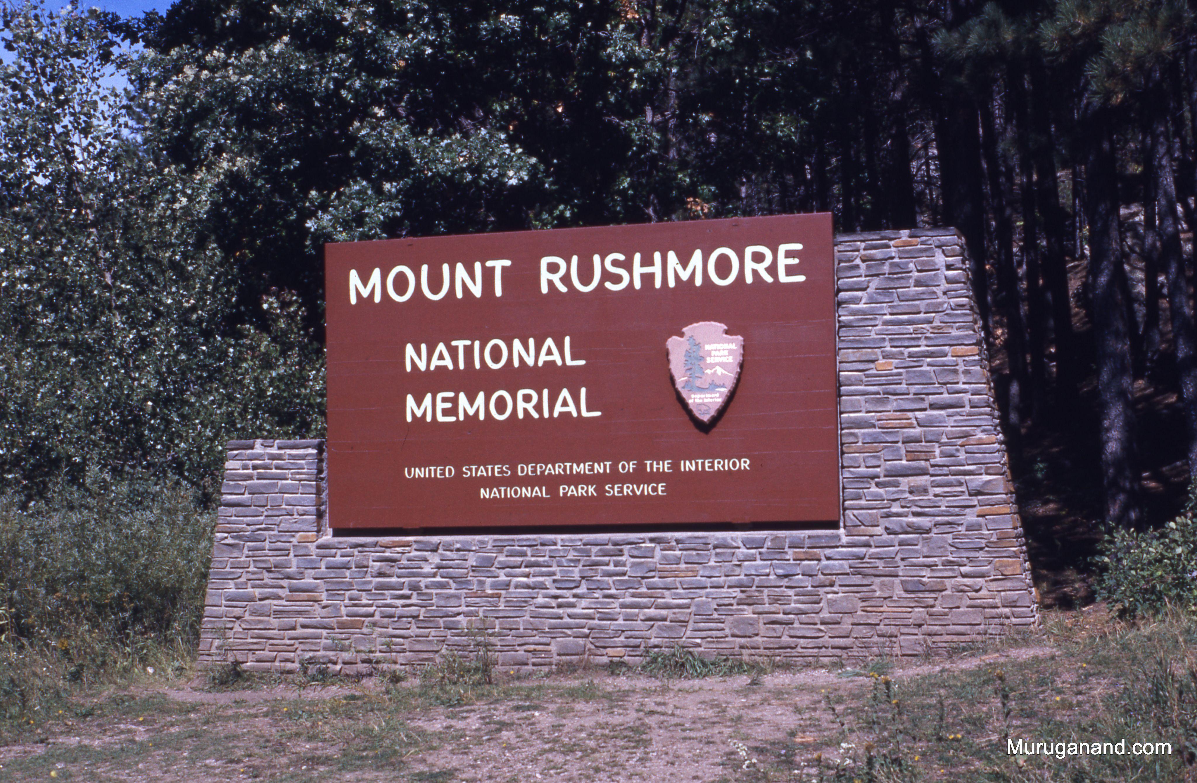 Rushmore+sign+board