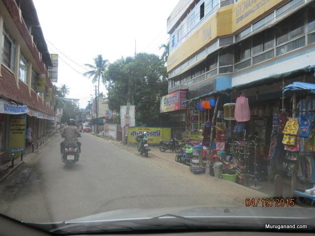 We are stopping at Cherthala (Seru +Thalai) on our way to Alappuzha