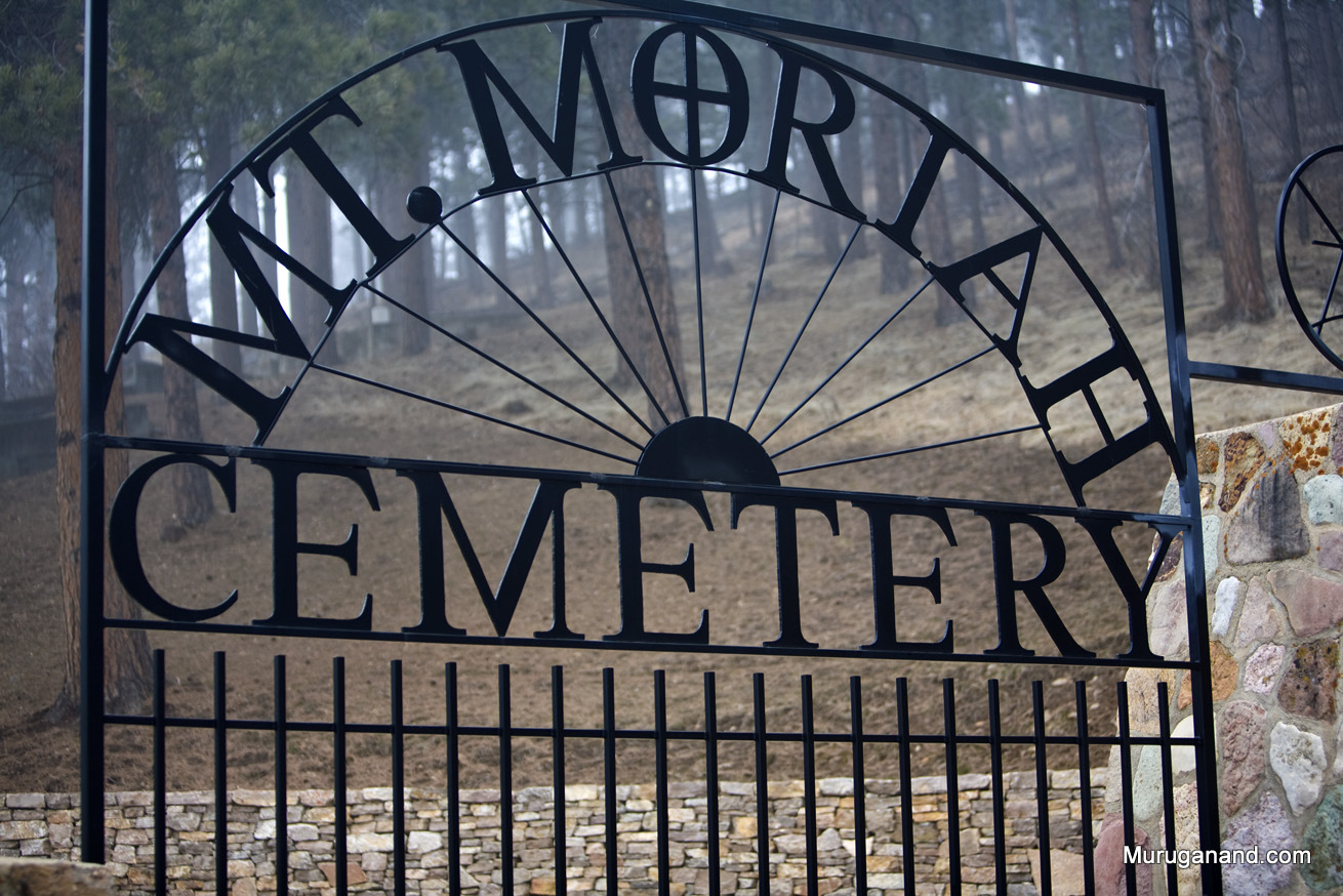 Picture from internet.Cemetery contains famous people of Deadwood.