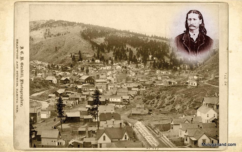 Deadwood in 1870's during Wild Bill days.- Picture from internet