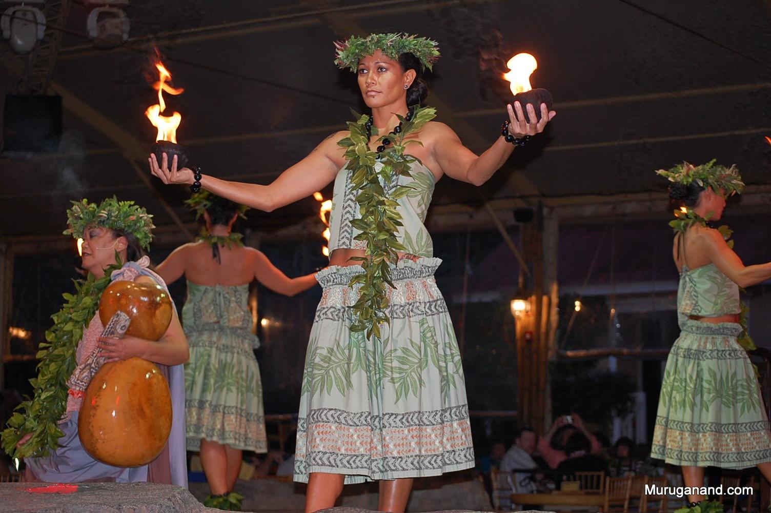 Beginning of Luau Performance (Kauai)