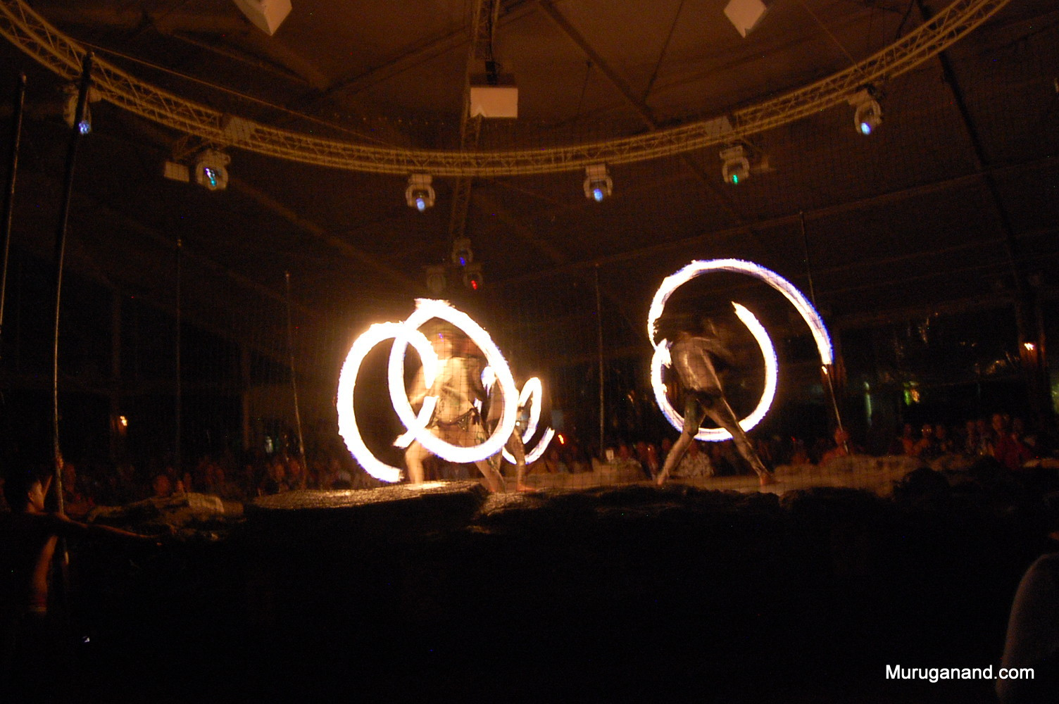 Fire Dancing at Luau (Kauai)