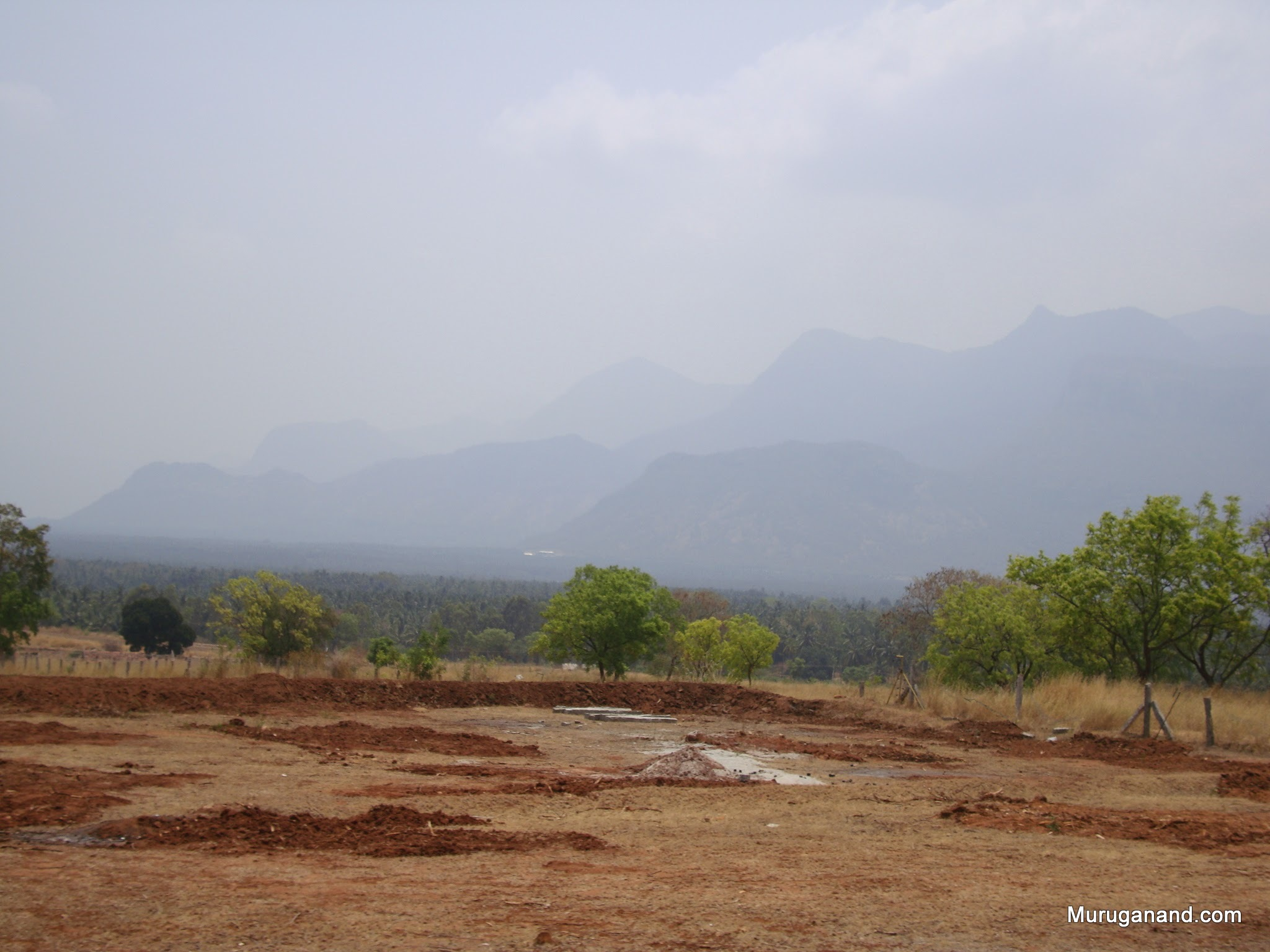 Mist covered Hills- part of Western Ghats