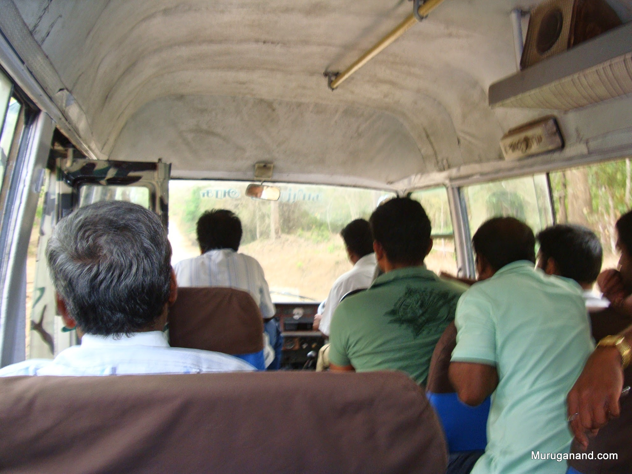 We are on our way to Elephant Feeding Camp Area