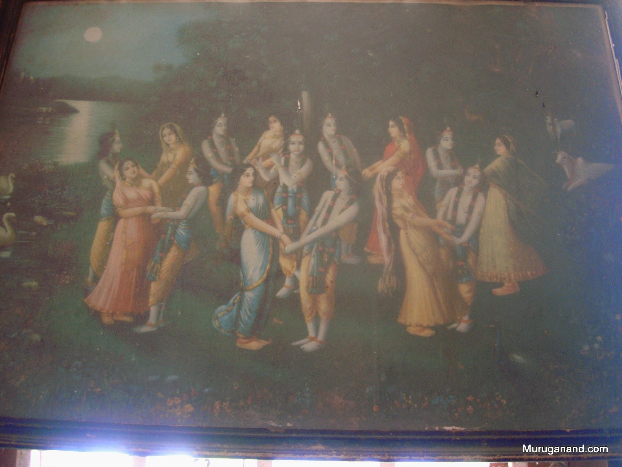 A vintage oleograph- is it Ravi Varma's?