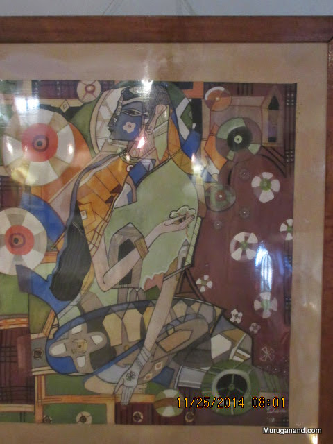 Modern Art-Janaki under Asoka TreeNarasimhamurthy