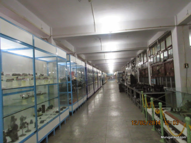 Gallery containing history of various industrial equipments