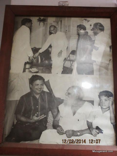 With Periyar and Gemini Ganesan