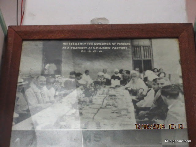 Hosting Governor of Madras in 1941