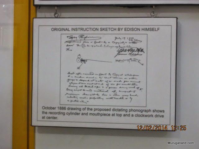 Study of Edison's original!