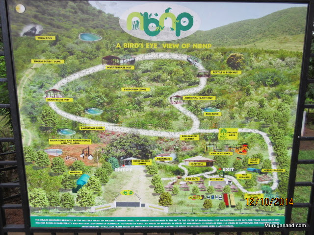 Guided tour map