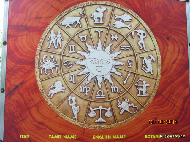 Zodiac Garden has 27 trees corresponding to the stars in Hindu Astrology