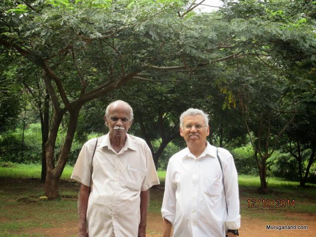 Dr. Ratnam, the ornithologist loves trees