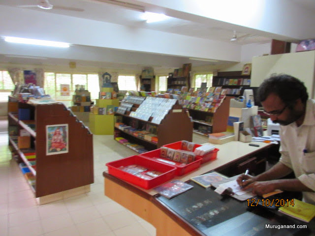 Well stocked book store- Multilingual religious texts