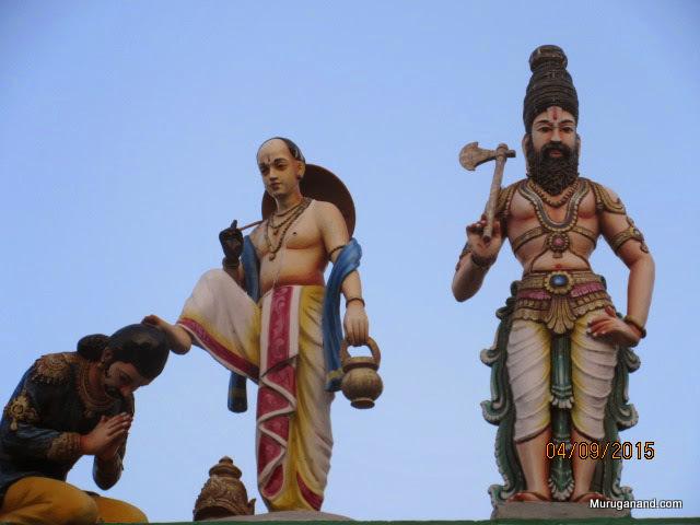 Two of the Ten Avatars:Vaamana and Parasurama