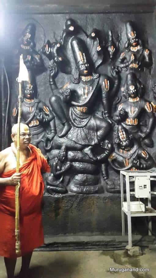 Vaikuntha Narayana in calm posture- Cave Temple(interenet image)