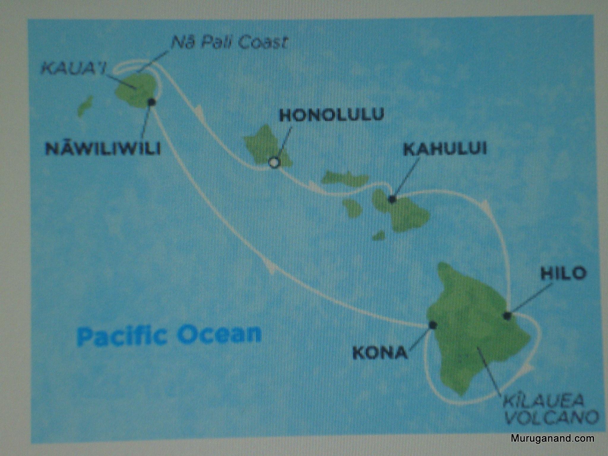 Tour Starts in Honolulu
