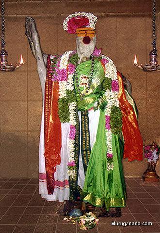 Arthanareeswarar- swayambu vigraham