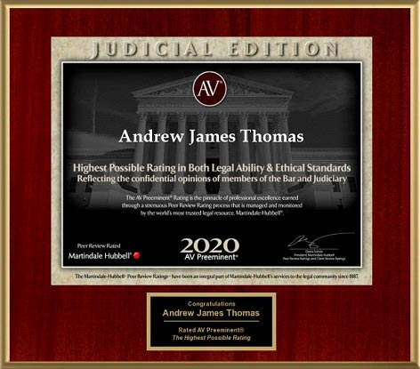 Judicial Edition - Andrew James Thomas