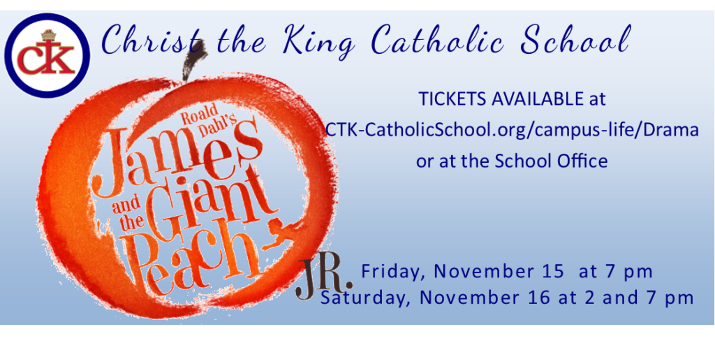 James and the Giant Peach at CTK November 2019