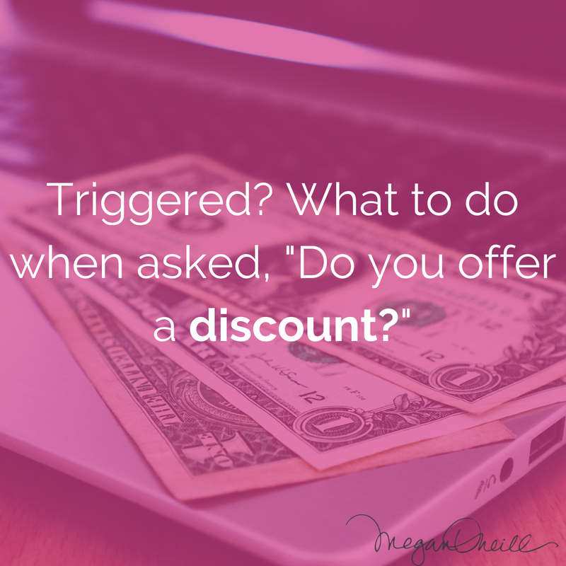 What Can You Do if You are asked for a discount