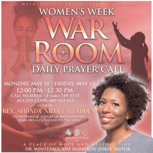 Women's Week War Room: Daily Prayer Call