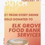 Dutch Luv Day – $1 from every drink sold at Dutch Bros Elk Grove goes to EGFBS