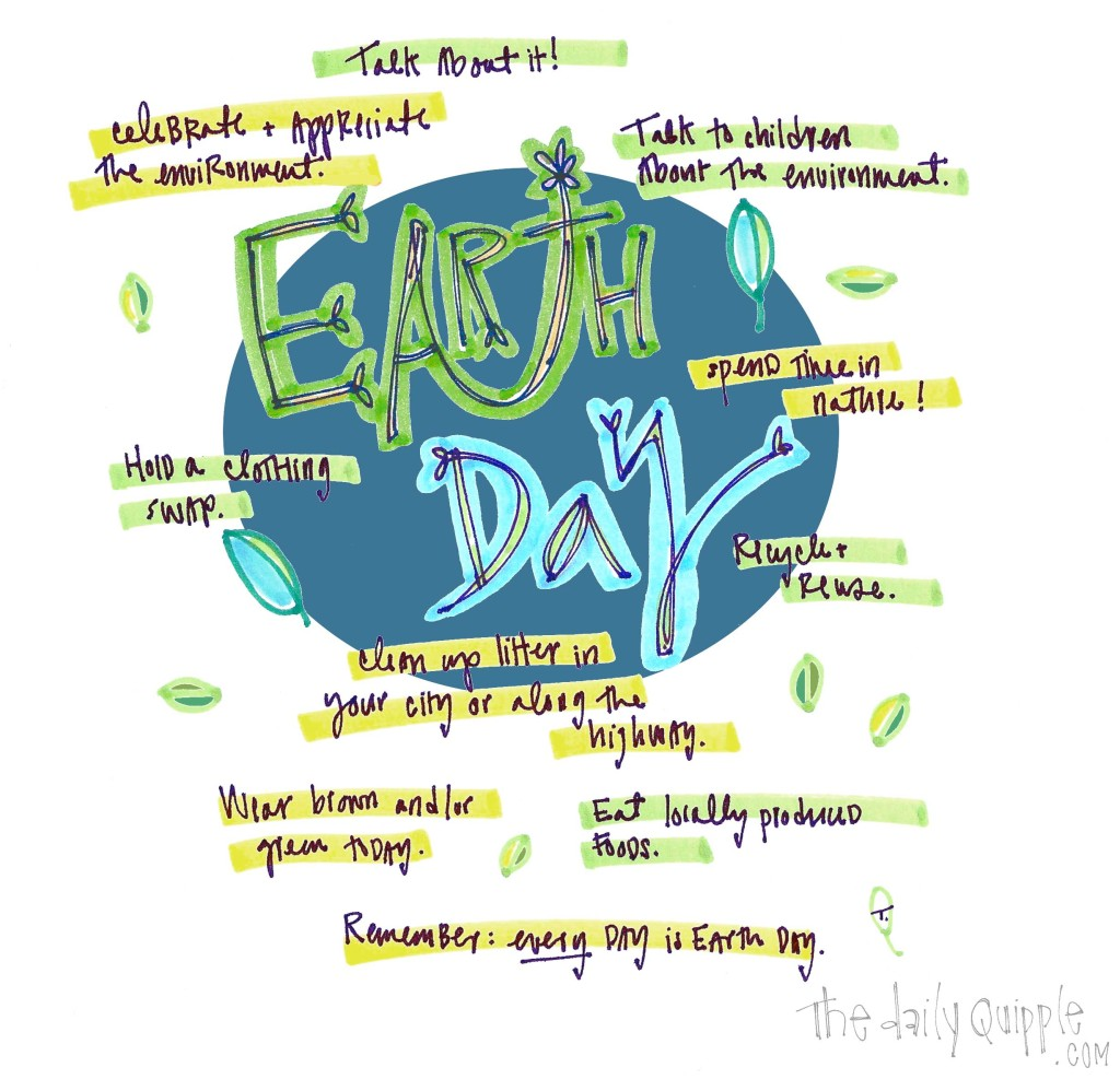 Happy Earth Day. Take some of these actions today!