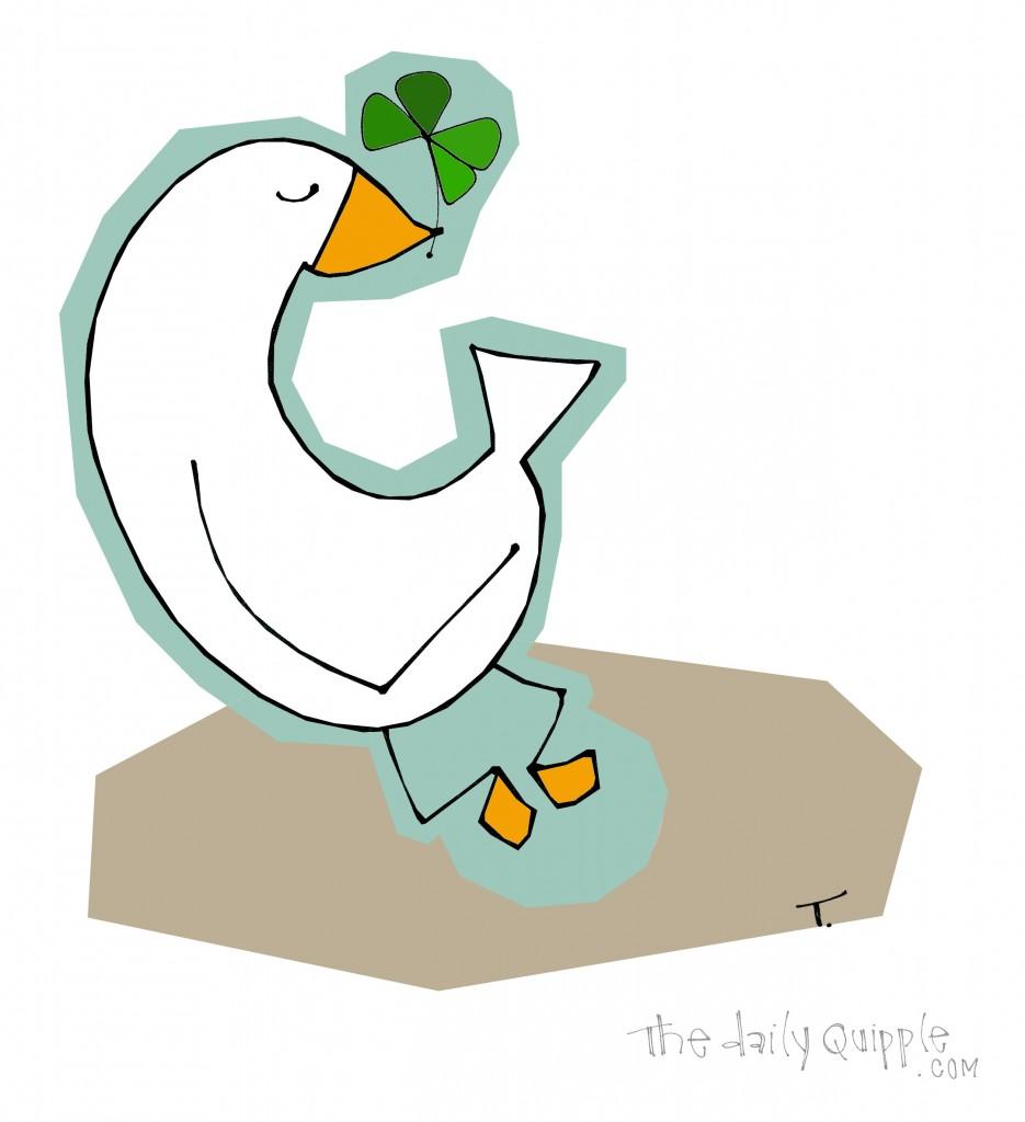 It's a lucky duck!