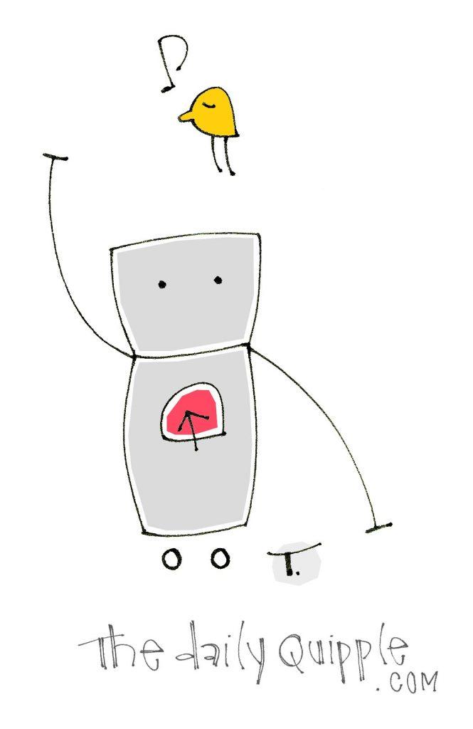 Quipple bot and bird.