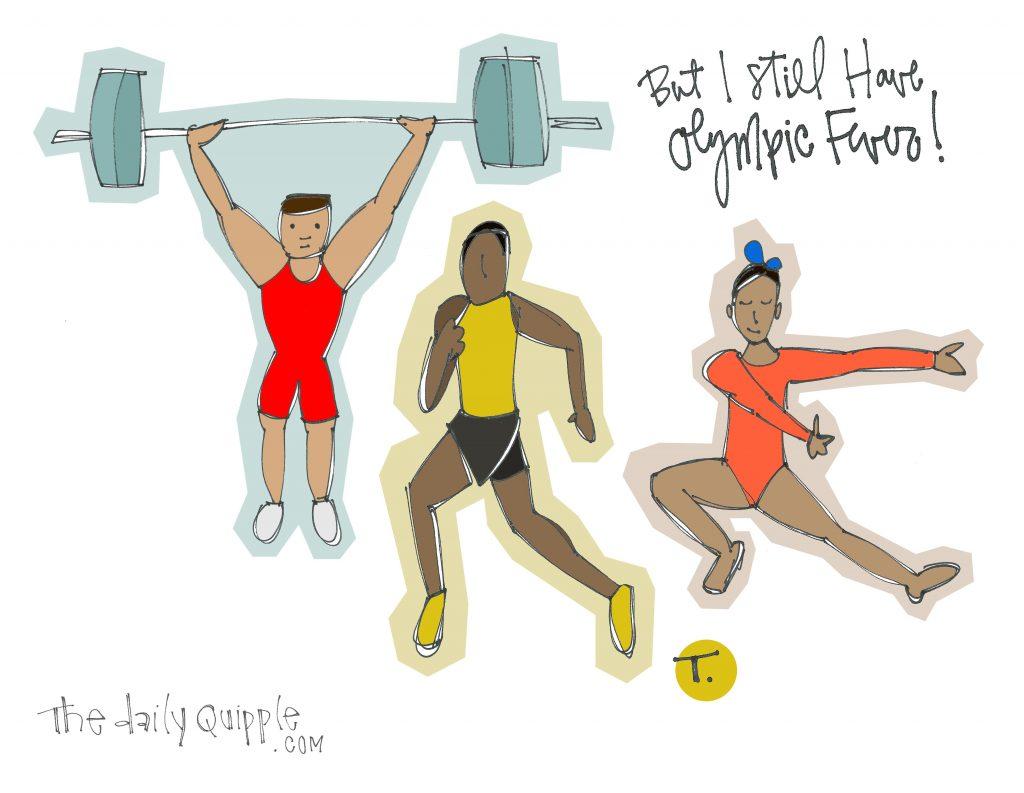 I already miss the Olympics.