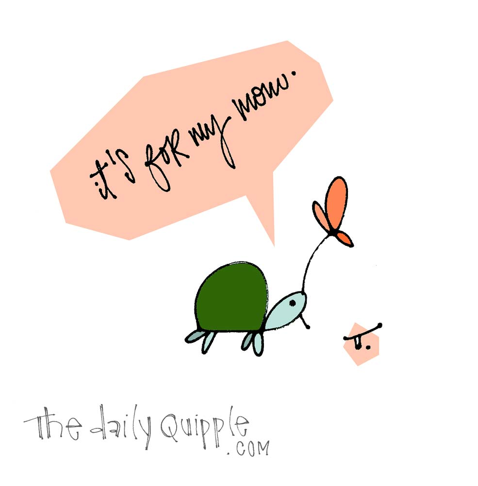 On My Way to Tomorrow | The Daily Quipple