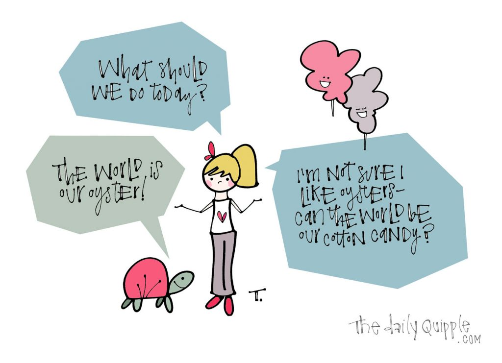 Cotton Candy World | The Daily Quipple