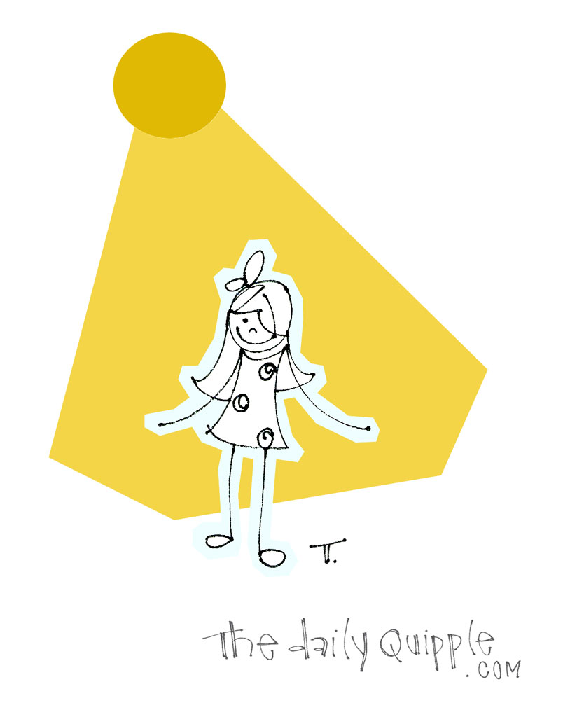 Standing in a Sunbeam | The Daily Quipple