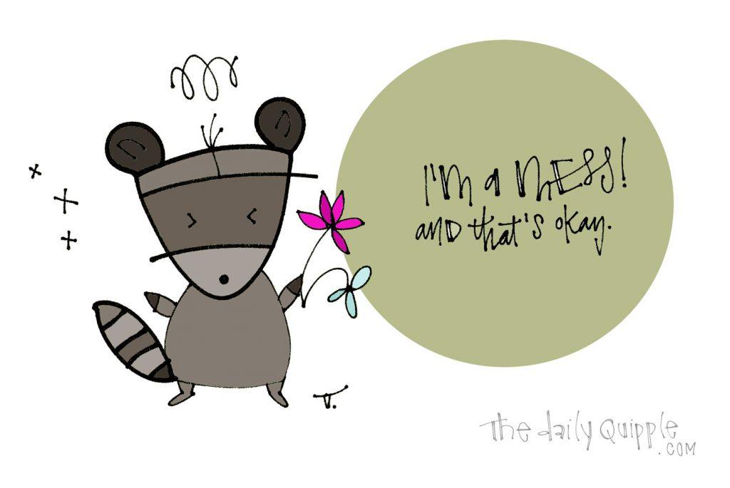 Okay Raccoon   The Daily Quipple