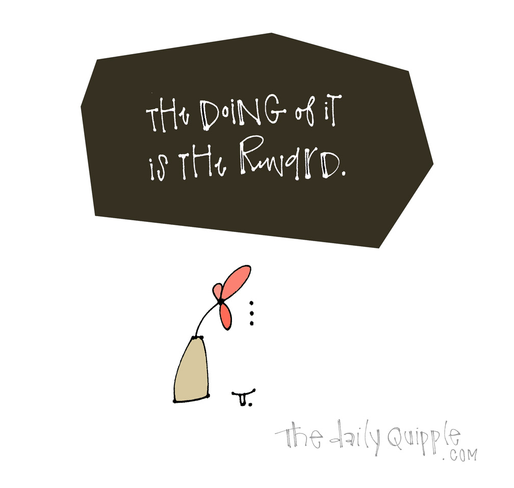 Joy In Action | The Daily Quipple