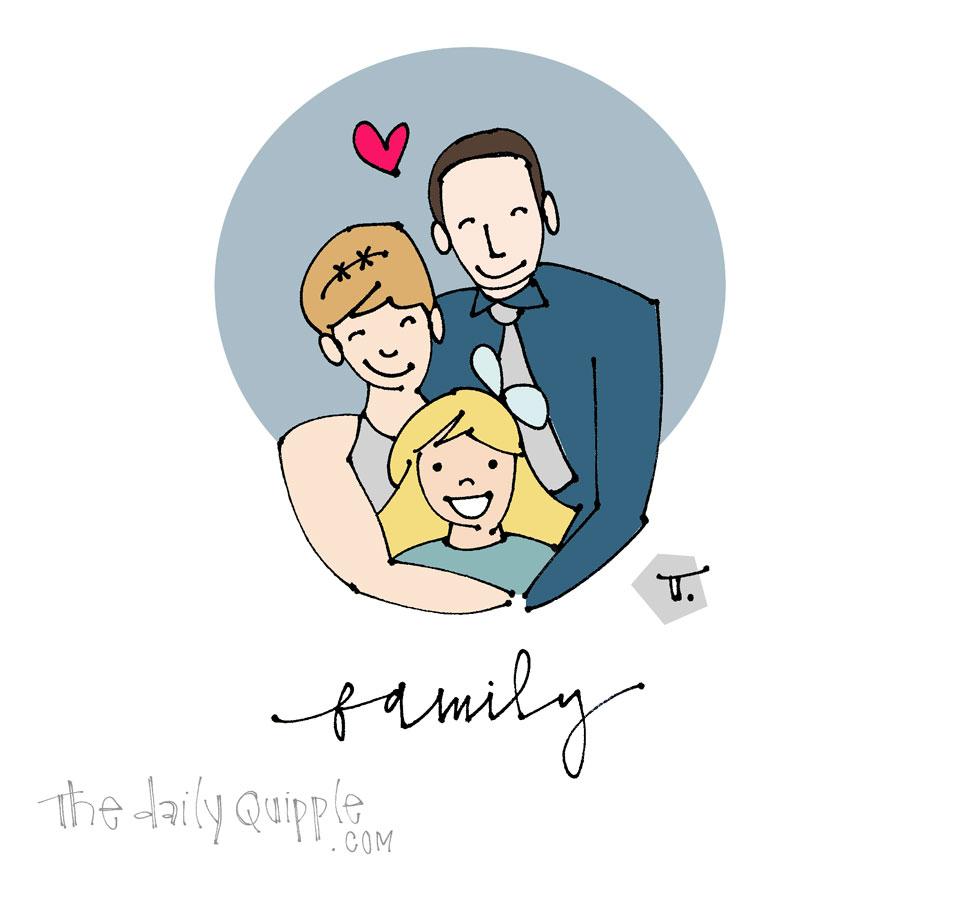 Family Gratitude | The Daily Quipple