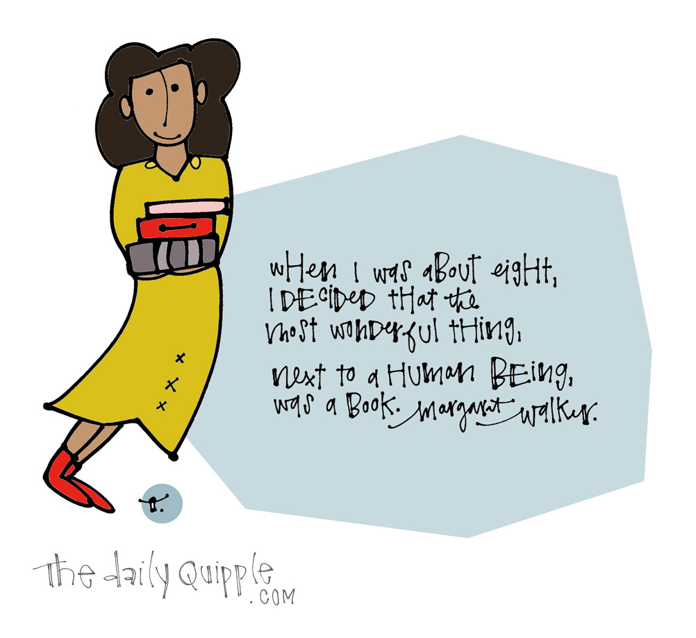 Books are Wonderful Too | The Daily Quipple
