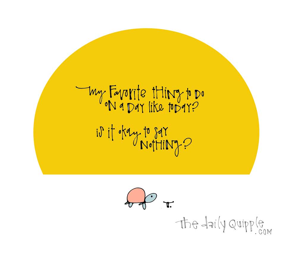 Nothing is Okay   The Daily Quipple