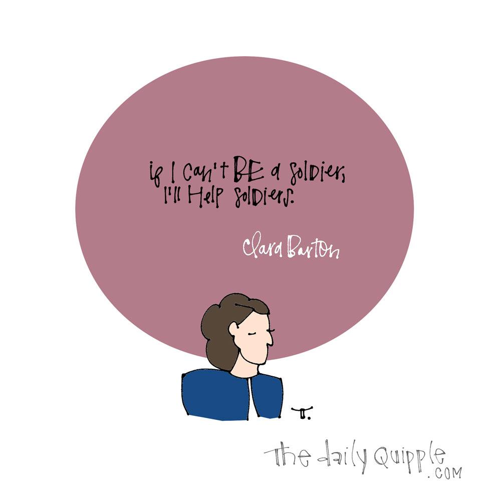 Clara Barton | The Daily Quipple