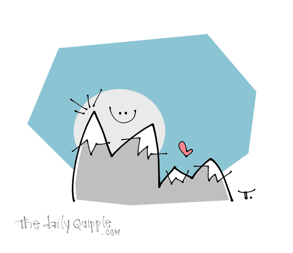 Mountain Moon | The Daily Quipple