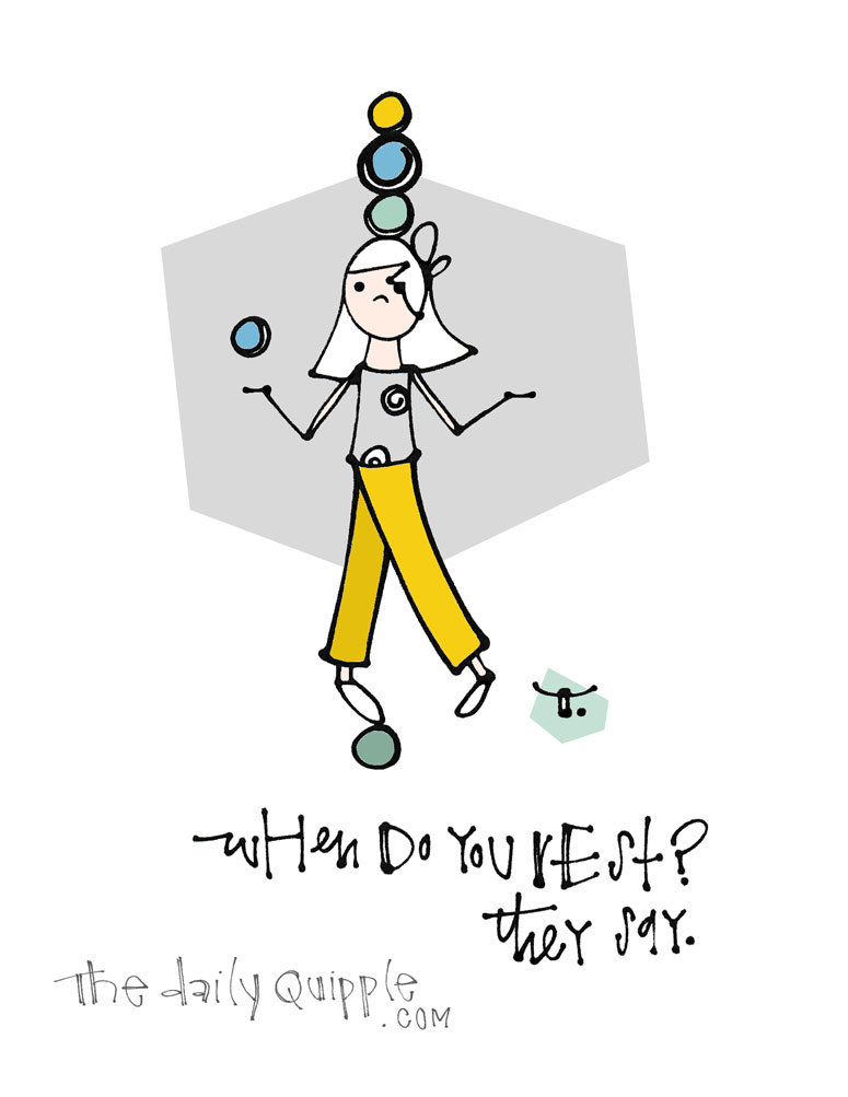 When Oh When | The Daily Quipple
