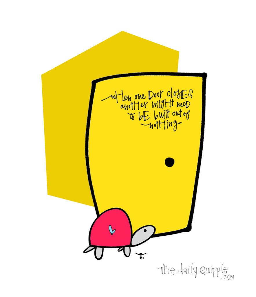 Build Your Own Door | The Daily Quipple